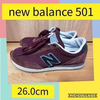 スニーカー New Balance 501 26.0cm
