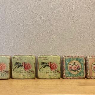 インテリア アンティーク風 バラ 5枚セット(⑅•ᴗ•⑅)◜..°♡ - 名古屋市