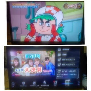 高画質!40インチフルHD液晶テレビ「SONY BRAVIA」外...