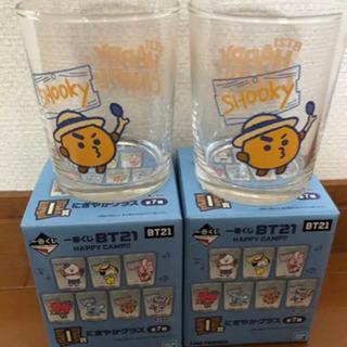 BT21 一番くじ SHOOKY グラス