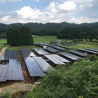 急募‼️太陽光発電所建設の施工管理