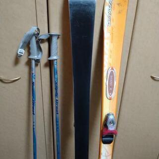 スキー三点セット