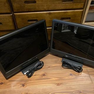 2台セット 19インチワイドTFTカラー液晶モニターの画像