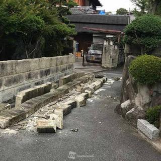 【プロに任せて】地震による倒壊部の修理・復旧塀の復旧