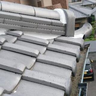 😅現在職人が余ってますのでお安く屋根漆喰😅