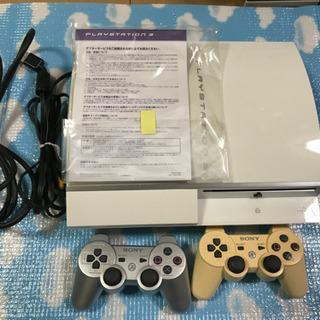【ネット決済】PS3 80G ホワイト 難あり品