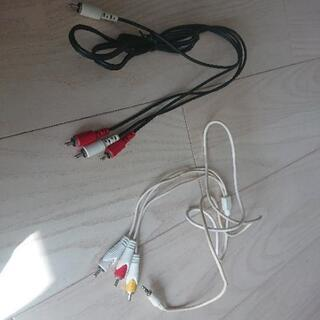 ビデオケーブル ミニプラグケーブル 変換