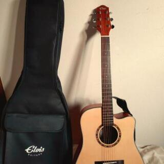 elvis ギター カポタスト付き