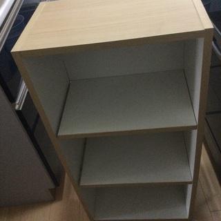 カラーボックス 三段ボックス 収納 本棚 おおよそ高さ88㎝奥...
