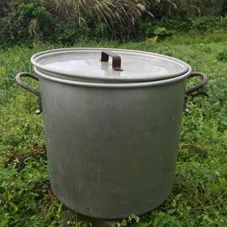 大きい鍋 業務用鍋 米軍 5ガロン