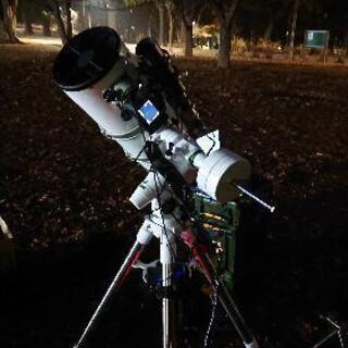天体望遠鏡を使って天体撮影・天体観測を一緒に楽しんでくれる人募集の画像