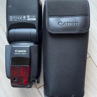 【580EX II】CANON (キャノン)スピードライト譲ります