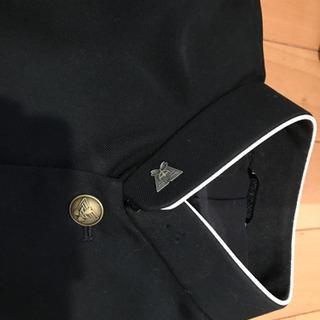 学生服(学ラン)小金井1中の校章とボタン付き