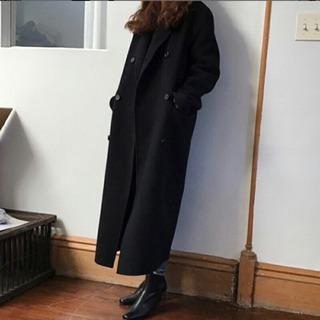 黒のロングコート M 未使用