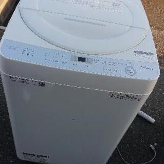 洗濯機 6kg シャープ ESGE6B