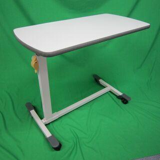 【中古】 介護ベッド用サイドテーブル パラマウントベッド製