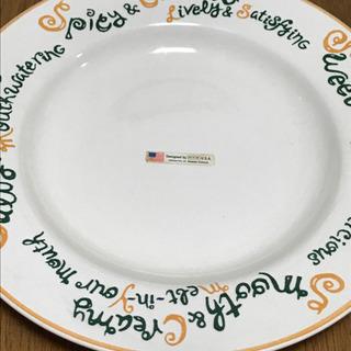アメリカ FITCH フィッチ社 皿 byミスタードーナツ
