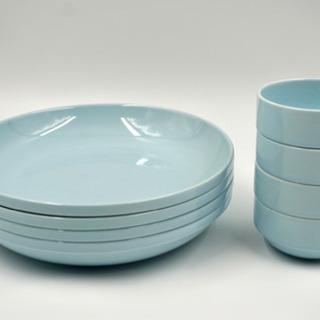 スタッキング平皿4枚・小鉢4個