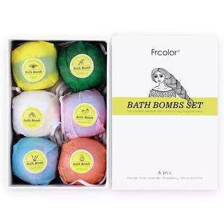 Frcolor BATH BOMBS (バスボム) 6pcs