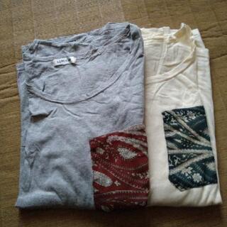 長袖 Tシャツ 2枚