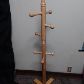 木製 頑丈 ポールハンガー