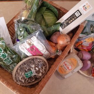 野菜のドライブスルー販売