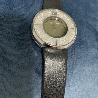 SALE❗️❗️スワロフスキー 本革ストラップ腕時計