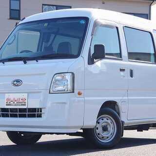 スバル★サンバーVトランスポーター天然ガス車★ホワイト