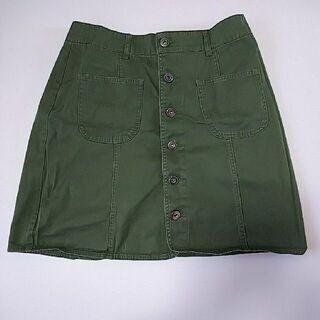 レディース*膝上スカート*L