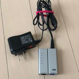 値下げ ELECOM製 無線LANポータブルルーター