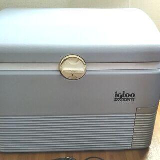 2電源式の電気温冷蔵庫!イグルー社クールメイト 32