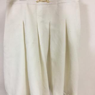 COPACA 白スカート 膝上