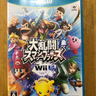 値下げ!【中古】Wii U用 ソフト 「大乱闘 スマッシュブラザーズ」