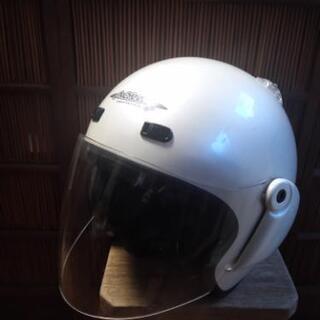 ヘルメット白