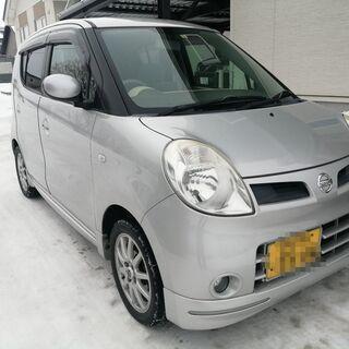 検4/3  日産 モコ G Four エアロスタイル 4WD タ...