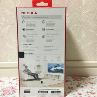Anker Nebula Capsule Android搭載 プロジェクター - 家電