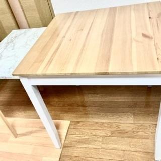 折り畳み式ナチュラルカラーテーブル