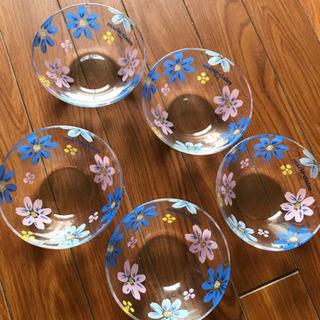 ガラス皿 5個セット