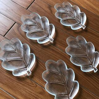 ガラス皿5枚セット