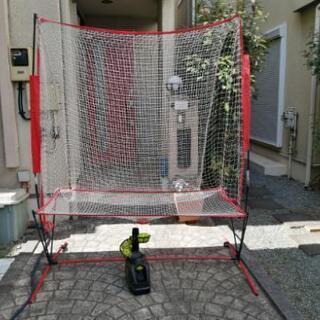 自動トスマシンセット 野球 自宅練習用