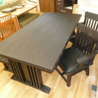k156☆ダイニングテーブル4点セット☆ダイニングテーブル+椅子...