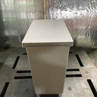 kj0216-14 ゴミ箱 白 ペダル