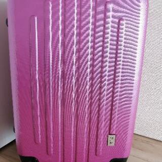 PIAスーツケース ピンク色