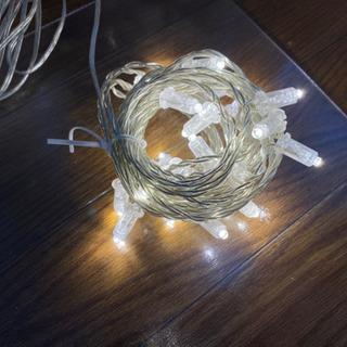【クリスマスにも】イルミネーション ライトチェーン コンセ…