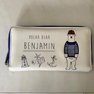 可愛いBEARの長財布売ります。新品の未使用