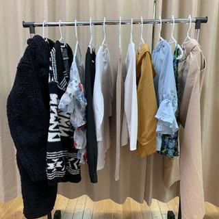 洋服 いろいろ 婦人服 女児服 1枚100円 洗濯済み