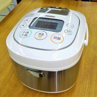 未使用品 ハイアール 5.5合炊飯器 JJ-M55D(W)