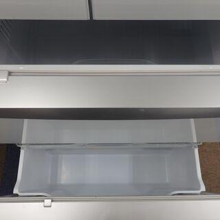 【配送設置無料エリア拡大】☆美品☆ 三菱 ノンフロン冷凍冷蔵庫 MR-WX48Z-W1 2016年製 470L − 東京都