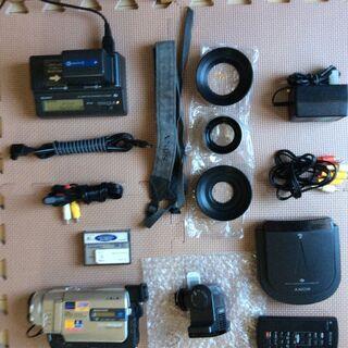 ビデオカメラ ソニーDCR-TRV20(一部壊れています。)