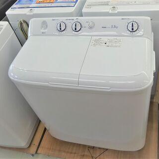 未使用品 ハイアール  5.5K二槽式洗濯機 JW-W55E(W)